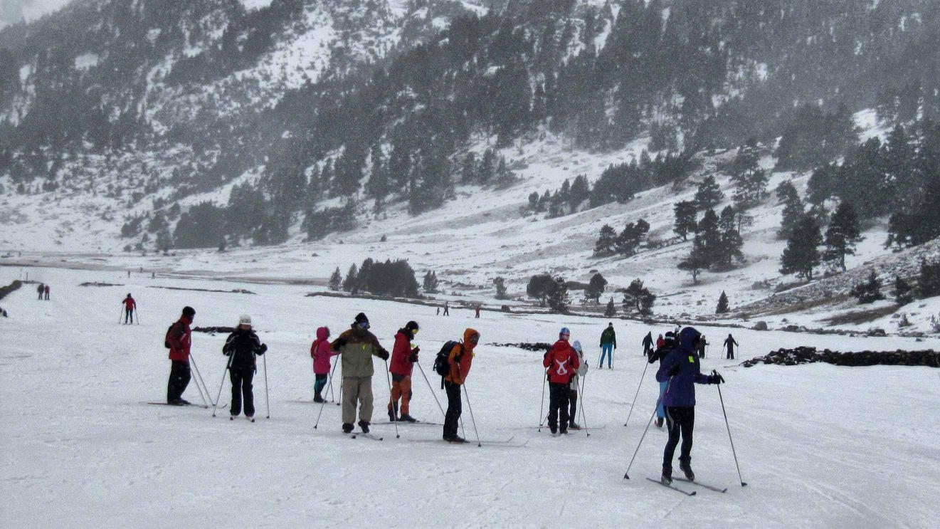 Esquí Nórdico, Esquí de Fondo